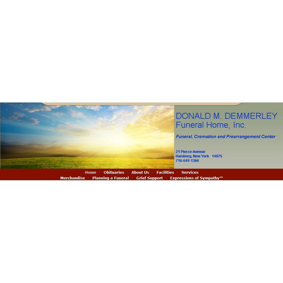 Donald M. Demmerley Funeral Home, Inc.   21 Pierce Ave, Hamburg, NY, 14075   +1 (716) 649-1366